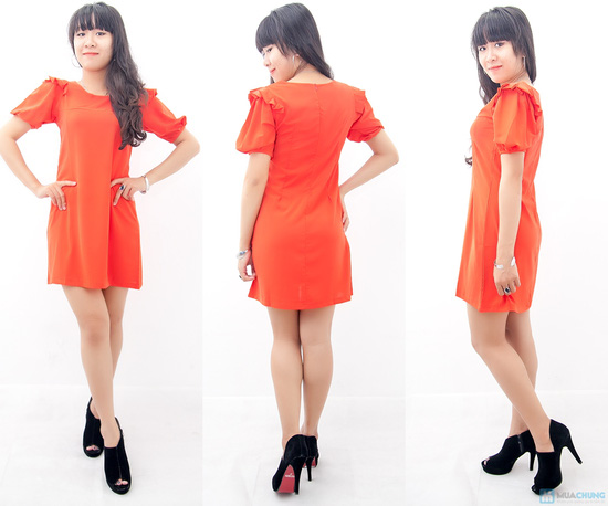 Đầm liền vai xếp li - Biến tấu nhẹ nhàng đem đến sự đáng yêu cho bạn gái - Chỉ 155.000đ/01 chiếc - 2