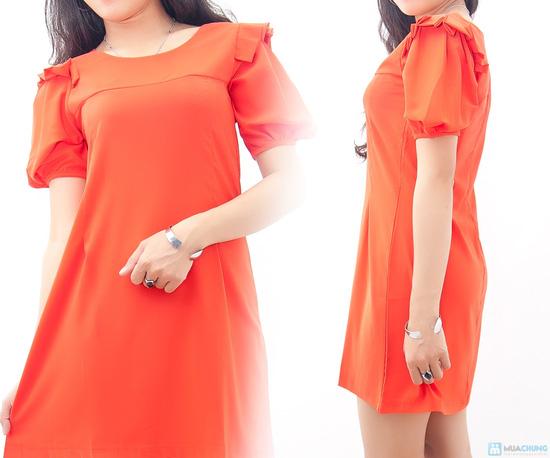 Đầm liền vai xếp li - Biến tấu nhẹ nhàng đem đến sự đáng yêu cho bạn gái - Chỉ 155.000đ/01 chiếc - 5