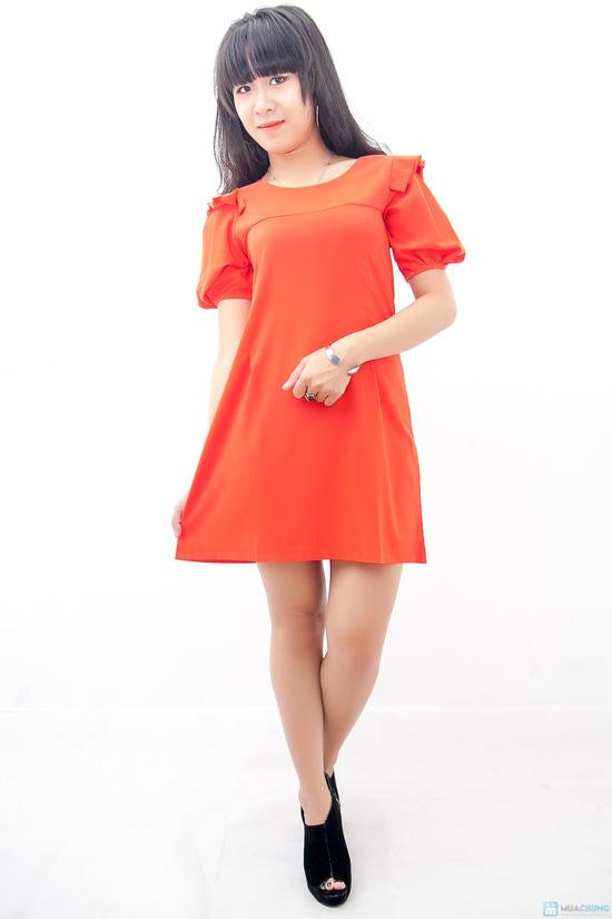 Đầm liền vai xếp li - Biến tấu nhẹ nhàng đem đến sự đáng yêu cho bạn gái - Chỉ 155.000đ/01 chiếc - 4