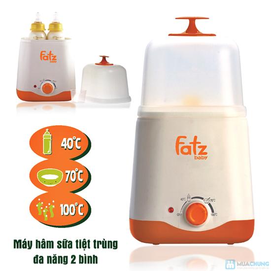 Máy hâm sữa 2 bình đa năng Fatzbaby - 8