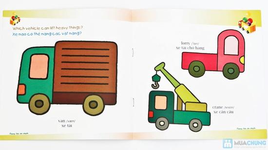 Túi sách Bé học tiếng Anh & phát triển IQ + Những câu