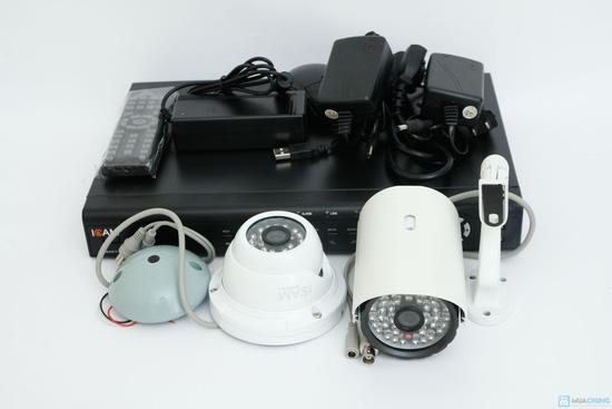 Bộ Camera giám sát Icam và Đầu ghi hình KTS - 4