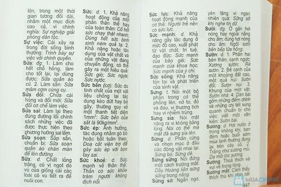 Từ điển tiếng Việt + Từ điển đồng nghĩa - Trái nghĩa tiếng Việt + Từ điển chính tả tiếng Việt. Chỉ với 58.000đ - 3