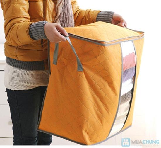 Túi đựng chăn màn quần áo loại đứng túi đựng chăn đa năng 2