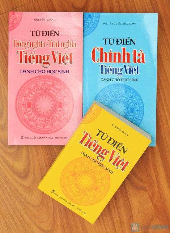Từ điển tiếng Việt + Từ điển đồng nghĩa - Trái nghĩa tiếng Việt + Từ điển chính tả tiếng Việt. Chỉ với 58.000đ - 1