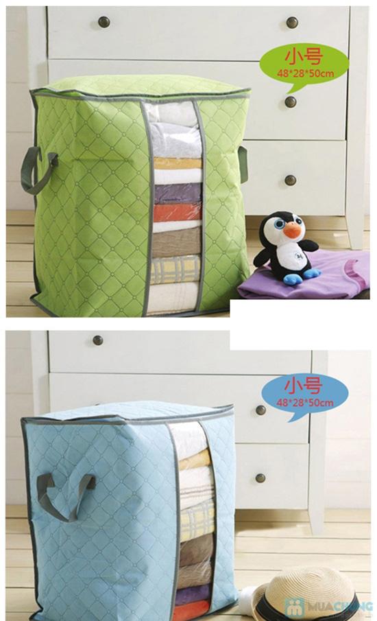 Túi đựng chăn màn quần áo loại đứng túi đựng chăn đa năng 6