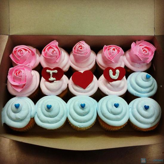 Set 8 bánh CupCake thơm ngon, đẹp mắt tại Afamily Cake - 11