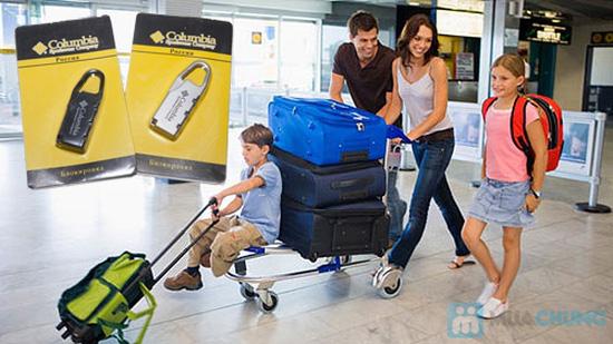 Combo 02 ổ khóa số du lịch an toàn, nhỏ gọn và tiện dụng - Chỉ 59.000đ - 2