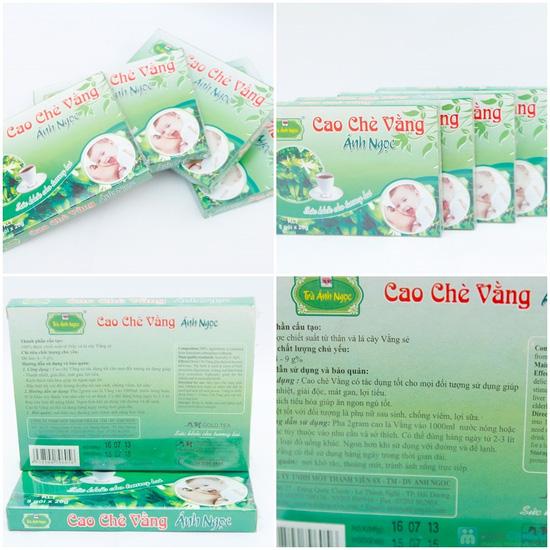 Combo 04 hộp cao chè Vằng Ánh Ngọc  - 8
