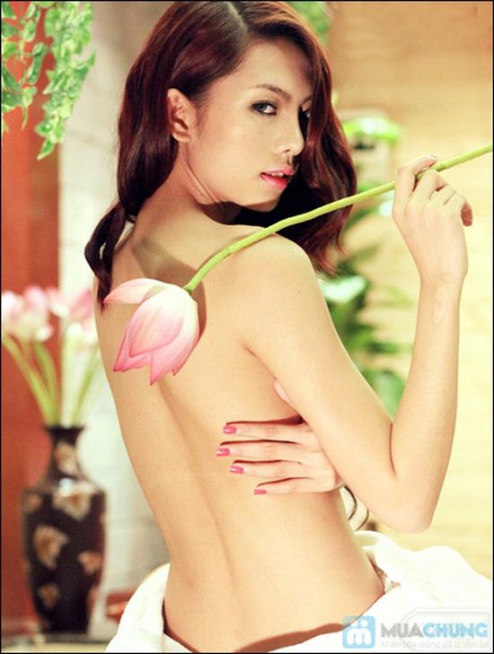 Gói tắm trắng toàn thân và mặt công nghệ Hàn Quốc tại Lee Wedding & Spa - 9