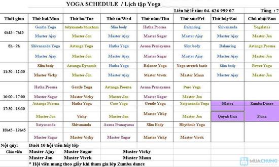 Tập Yoga với Master Avi và Master Amit - Giảng viên Ấn Độ tại Hương Anh Spa - 1