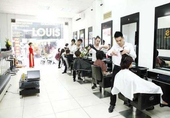 Trọn gói làm tóc tại Viện tạo mẫu tóc Louis - 1
