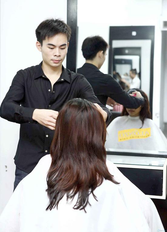 Trọn gói làm tóc tại Viện tạo mẫu tóc Louis - 4
