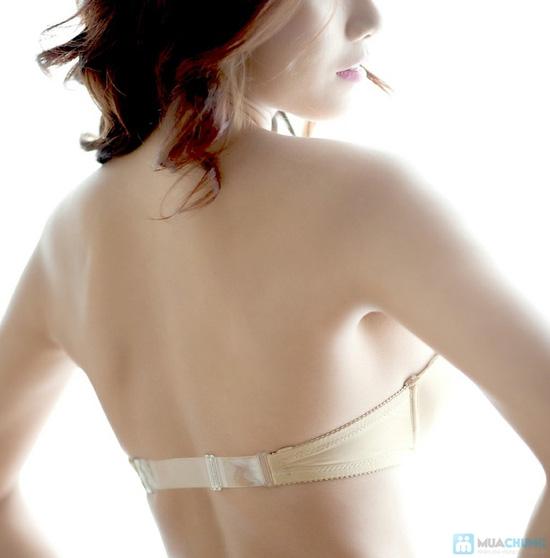 Áo ngực nhiều nấc, dây lưng trong suốt - 8