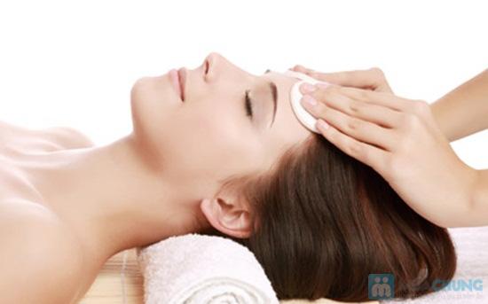 Chăm sóc da mặt trắng sáng: Chuyển điện Ion vitamin C + Đắp mặt nạ + Massage tại TMV Quỳnh Như - Chỉ 120.000đ - 2