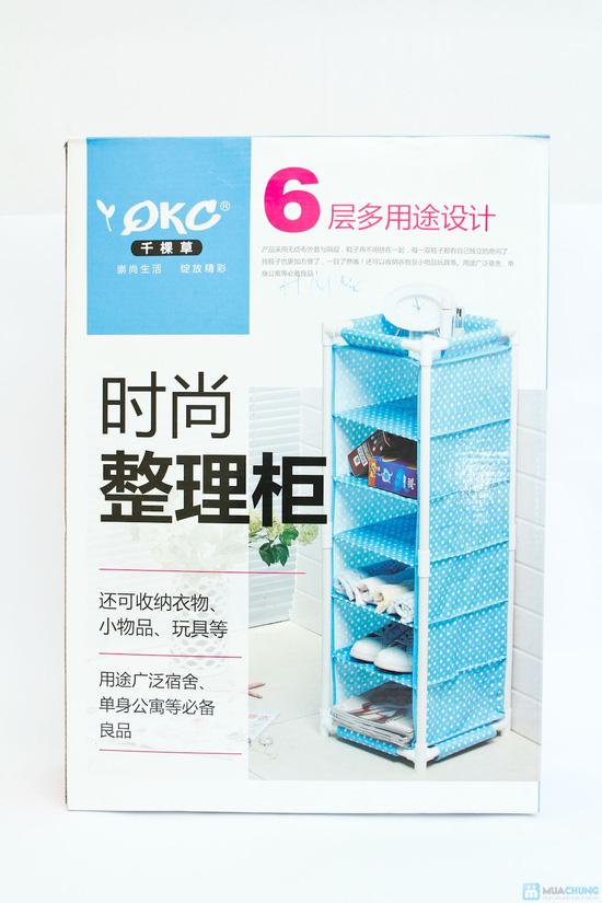 Tủ vải 6 tầng đa năng QK-9805 cao cấp - 1