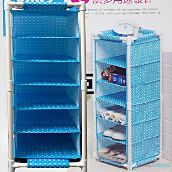 Tủ vải 6 tầng đa năng QK-9805 cao cấp - 2