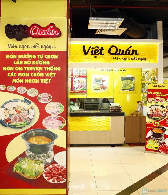 Set lẩu riêu cua bò cho 3-4 người tại nhà hàng Việt Quán - 2