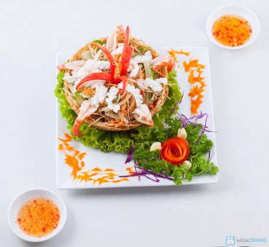 Buffet hải sản 123 món buổi tối tại Nhà hàng Sesan - 1
