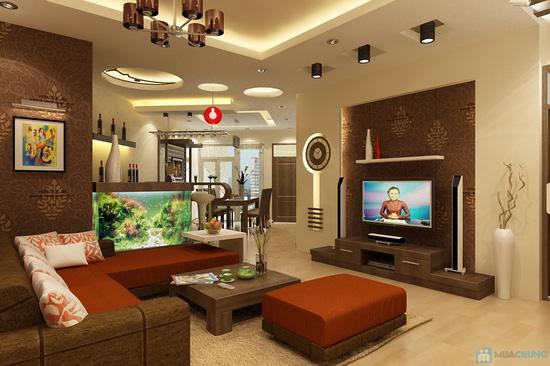Gói thiết kế nội thất cho 1 phòng tại Thiên Xuân - 4