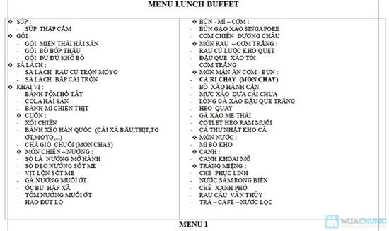 Buffet trưa tại Blue Diamond - 43