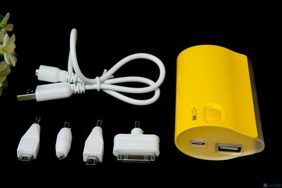 Pin tích điện chính hãng Power Bank 5600mAh - 4