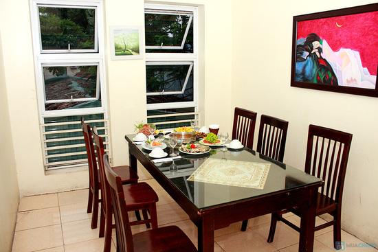 Thưởng thức Bò xiên nướng, Ngao nướng bơ, Lẩu hải sản kim chi đặc biệt tại NH Ngọc Sương - 3