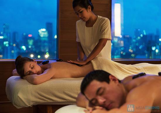 Xông hơi + massage Tinh chất Hoa Cúc Trà Xanh Zeus Spa - 20
