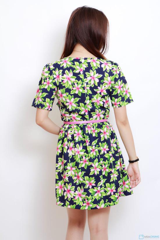 váy hoa họa tiết - 2