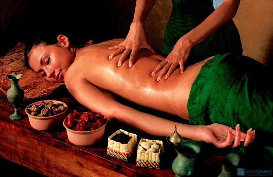 Xông hơi + massage Tinh chất Hoa Cúc Trà Xanh Zeus Spa - 1