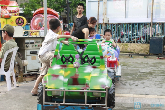 4 Vé chơi trò chơi tại Cung Thiếu Nhi Hà Nội - 4