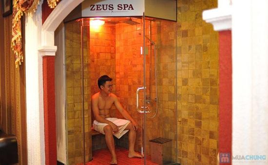 Xông hơi + massage Tinh chất Hoa Cúc Trà Xanh Zeus Spa - 14