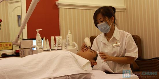 Xông hơi + massage Tinh chất Hoa Cúc Trà Xanh Zeus Spa - 13