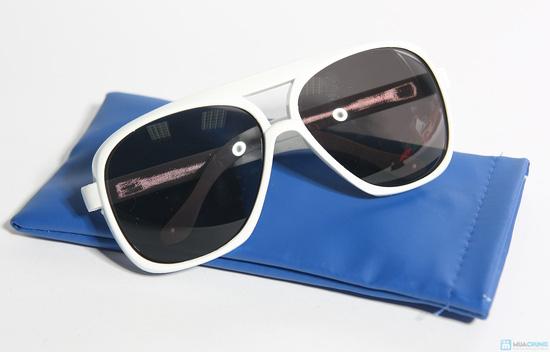 Mắt kính mát thời trang có túi - 2