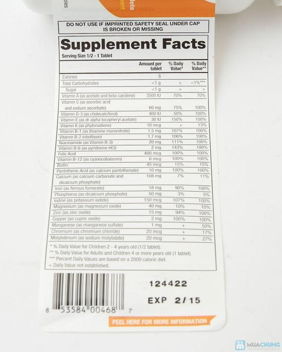 kẹo nhai bổ sung vitamin và khoáng chất cho bé - 1