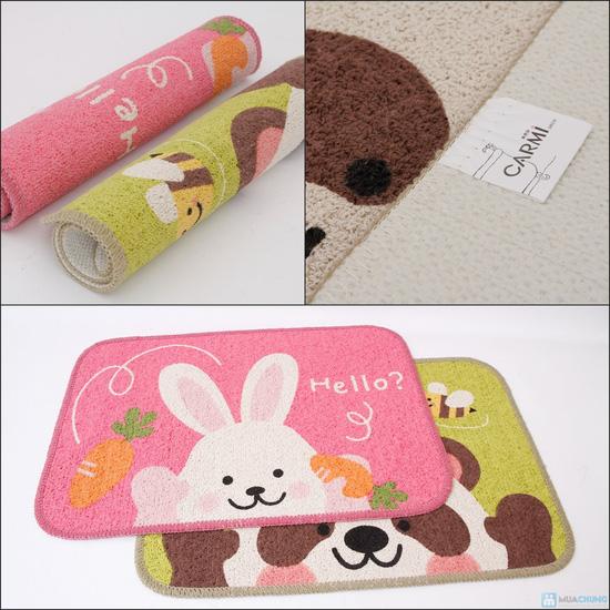 Combo 02 thảm Hello Panda & Hello Rabbit - 8