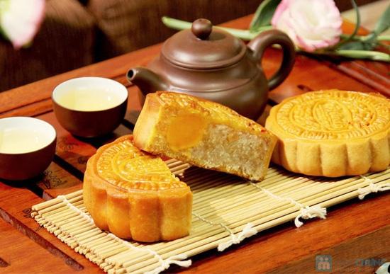 Bánh trung thu Đồng Khánh bông lúa vàng - 3