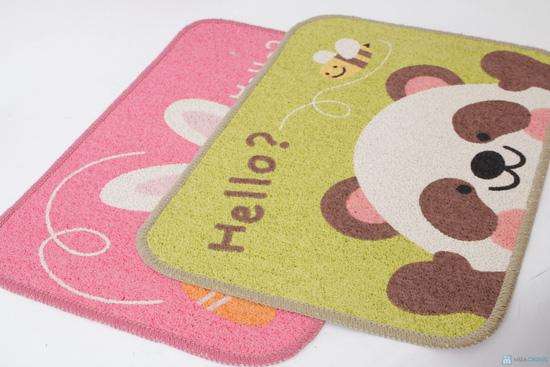 Combo 02 thảm Hello Panda & Hello Rabbit - 5