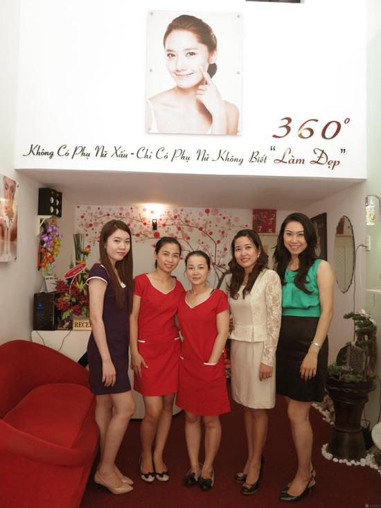 Massage mặt trắng sáng,cải thiện nám,nâng cơ hiệu quả tức thời bằng máy siêu âm đưa tinh chất Collagen cao cấp + vàng 24k tại spa đẹp 360 độ - 6
