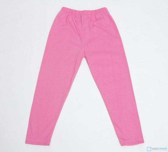 combo 3 quần legging cotton mịn cho bé gái (size 2,3) - 2