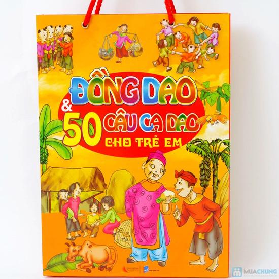 Túi 6 cuốn Đồng Dao & Ca dao cho trẻ em + Túi 6 cuốn Những câu chuyện trẻ em yêu thích nhất. Chỉ với 94.000đ - 1