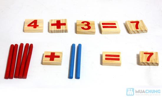 Bộ số và que tính bằng gỗ - 2