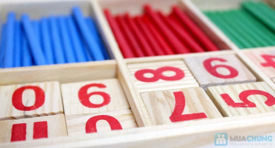 Bộ số và que tính bằng gỗ - 3