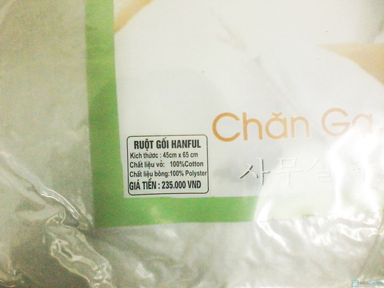Combo 2 ruột gối bông Hàn Quốc cao cấp Hanful 100%  - Chỉ 170.000đ - 3