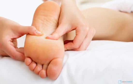 Massge foot + body ấn huyệt kết hợp đá nóng tại Sài Gòn Tina Spa - Chỉ 79.000đ - 1