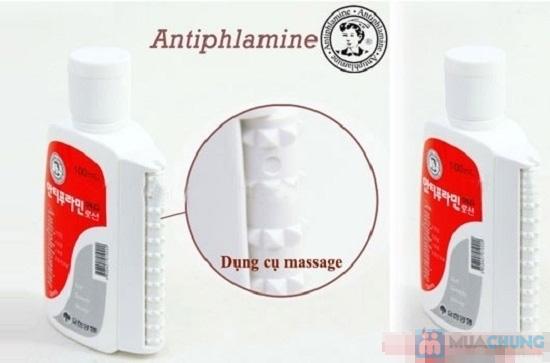 Dầu nóng xoa bóp Antiphlamine (100ml) của Hàn Quốc - 8