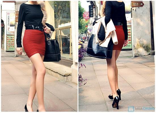 Trẻ trung và gợi cảm hơn với combo 02 chân váy ôm - 1
