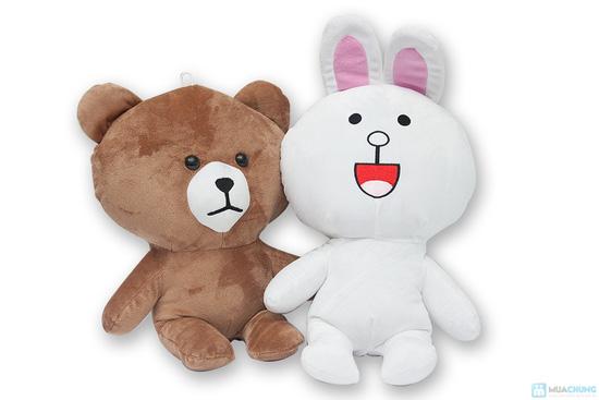 Thỏ cony và gấu brown - 1