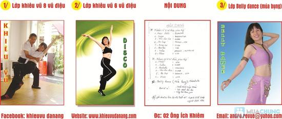 Khóa học Khiêu vũ giao tiếp hoặc Belly Dance (12 buổi) tại CLB Paris - Đà Nẵng - 2