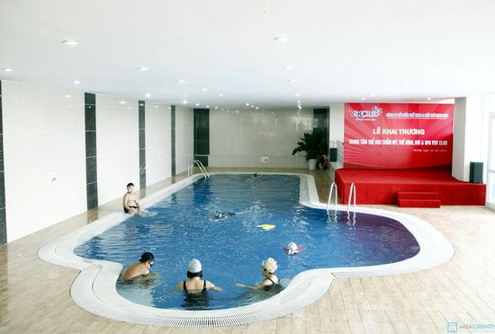 5 buổi bơi + tập Gym không giới hạn tại VSK Club - 17